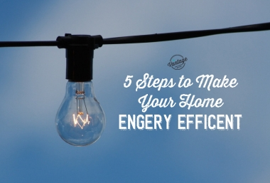 5 steps to make your home energy efficient